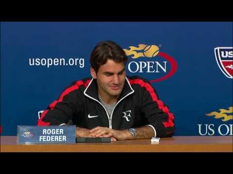 2009 US Open Press Conferences: R. Federer (Quarterfinals)