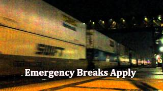 BNSF goes into EMERGENCY at Fullerton