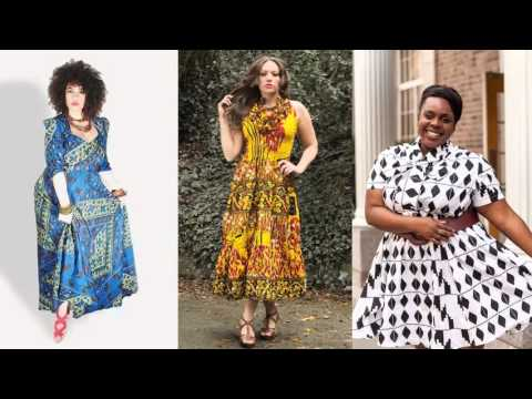 African Fashion Wear And Cloths | Plus Size African Trendy Dresses Pictures Of Women Romance