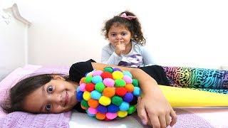 Öykü and Masal Johny Johny Yes Papa Magic İce Cream Fun Kids video