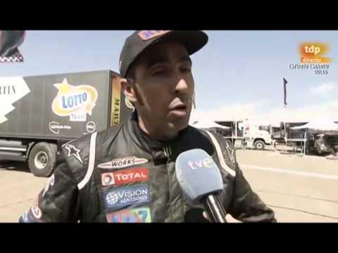 Dakar 2014 Etapa 11 DECLARACIONES Nani Roma - Stéphane Peterhansel