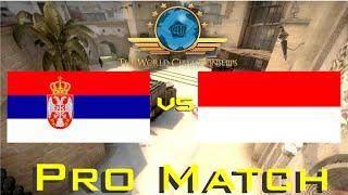 CS:GO World Championship - Serbia vs Indonesia (Funny Aftermatch Talk)