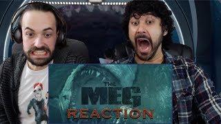 THE MEG - Official TRAILER #1 REACTION!!!
