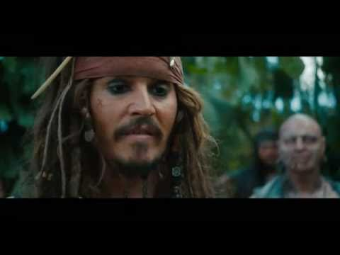 пираты карибского моря 4 на странных берегах (трейлер)