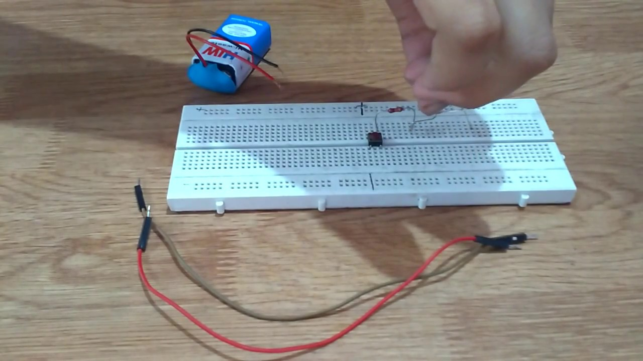 how to make an simple electronic circuit youtubehow to make an simple electronic circuit
