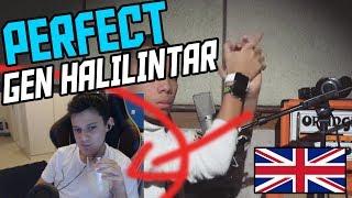 *REACTION* Gen Halilintar - Perfect (Gen Halilintar Cover Reaction)