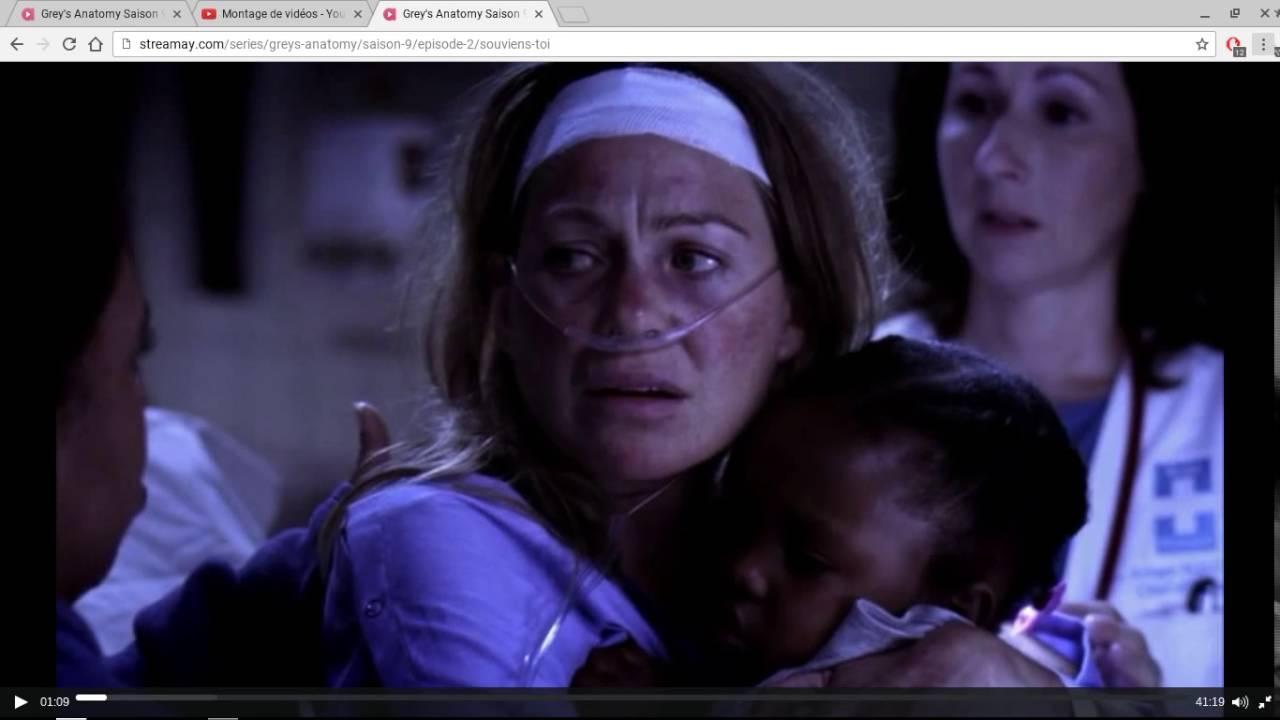 Grey's Anatomy 8x24 Accident d'avion - YouTube