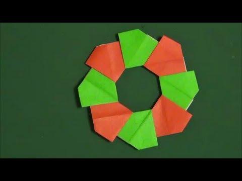 ハート 折り紙 折り紙鍋敷き作り方 : youtube.com