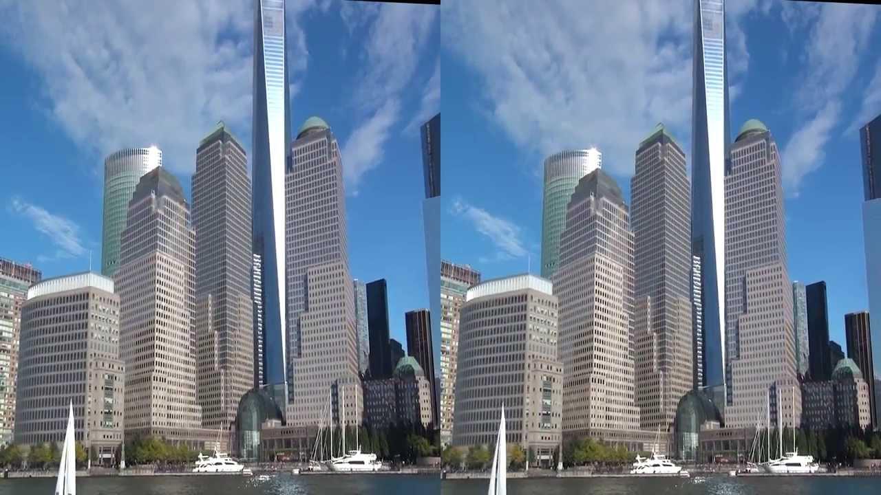 3D Manhattan Skyscraper