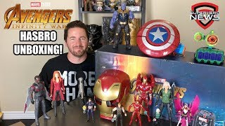 Avengers: Infinity War - Hasbro Collectibles Unboxing and Review