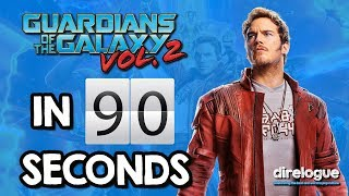 Guardians of the Galaxy: Vol 2 in 90 seconds