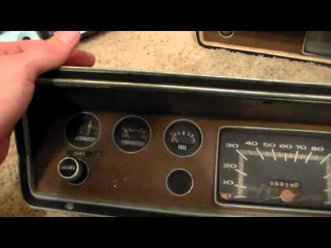 1973 Dodge Dart Quick Instrument Cluster Rehab Part 1