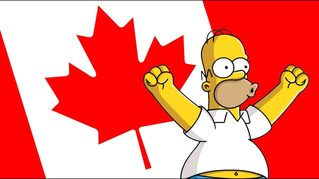 Image result for CANADIAN FLAG CARTOON