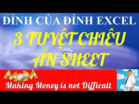 Excel_Excel tutorial_cách ẩn sheet trong excel_cách mở sheet trong excel_hide unhide excel_dnnthao