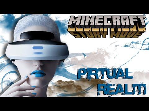 💀 PiRTUAL REALiTi !! - EP7-2 Minecraft Story Mode Indonesia -