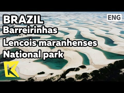 【K】Brazil Travel-Barreirinhas[브라질 여행-바헤이리냐스]렌소이스 마라넨지스/Lencois maranhenses/National park/Desert/Sea