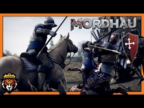 35+ Kills Horseback Riding w/ Huge Sword! (Mordhau Frontline Gameplay)