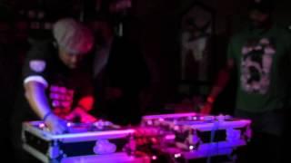 DJ Spinna throwing down at Fresh 45s Dallas