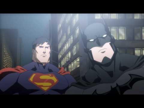 Justice League War - Escena 5 - Superman vs Batman Español Latino