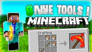 8 NYE OP TOOLS I MINECRAFT! | One Command Block