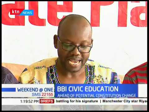 Civil Society Group propose BBI civic education ahead of potential Constitution change