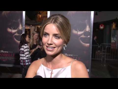 Annabelle: Annabelle Wallis Exclusive Premiere Interview