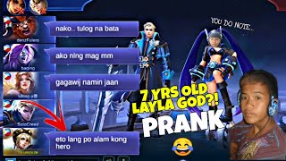 7 YRS OLD NAGBUHAT GAMIT SI LAYLA PRANK - Laughtrip to! 😂
