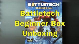 New Battletech 2018 Beginner Box Unboxing