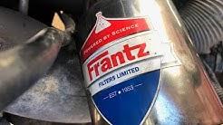 I Changed My Toilet Paper Oil Filter... (Frantz Oil Filter)