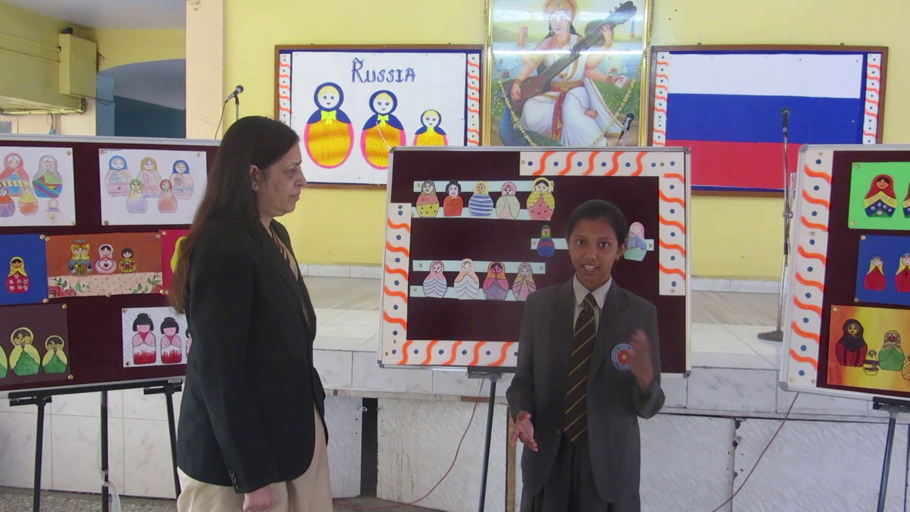Class 8 student of choithram school shares greetings in russian class 8 student of choithram school shares greetings in russian language of russia kristyandbryce Gallery