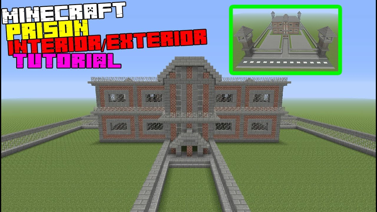 How To Build A Minecraft Prison Modern House