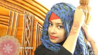 #1.Simple  hijab tutorial | Nira afsana