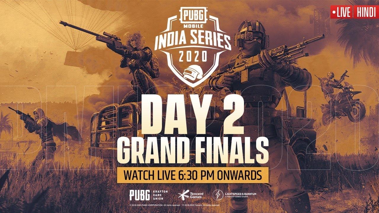 [Hindi] PMIS Grand Finals - Day 2 | PUBG MOBILE India Series 2020 #PMIS2020 #PUBGMOBILE