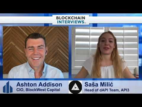 Saša Milić, Head of API3's dAPI Team – Decentralized Oracle Network   Blockchain Interviews