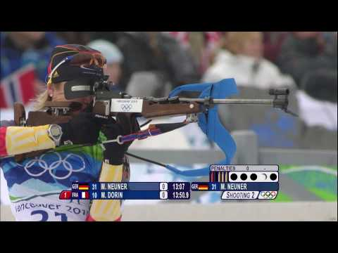Women's Biathlon – 7.5Km Sprint Highlights – Vancouver 2010 Winter Olympic Games