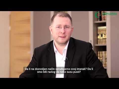 Poziv vjernicima (8) - Zabrana uzimanja tuđe imovine - Doc. dr. hafiz Kenan Musić