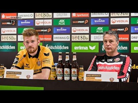 13. Spieltag | SGD - FCE | Pressekonferenz vor dem Spiel