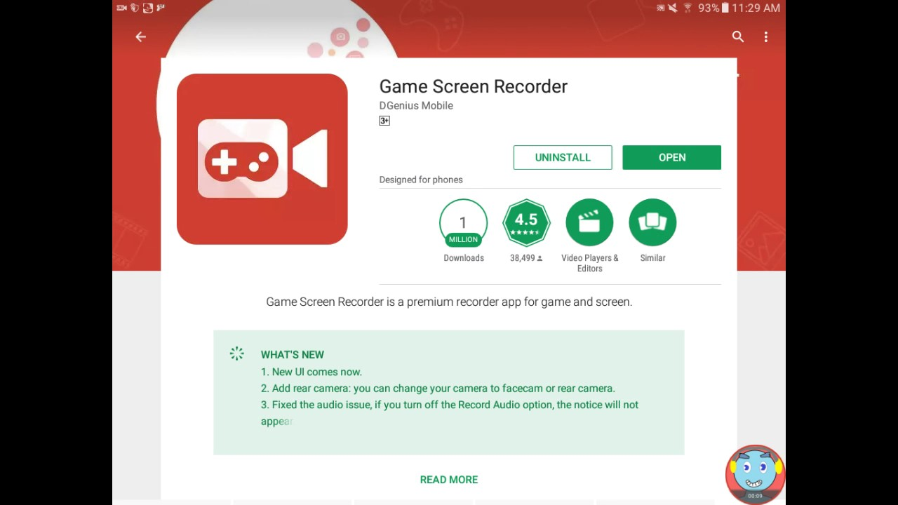 Download game screen recorder.