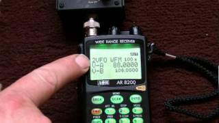 AOR 8200 Instructional videos Part 1. For beginners by a beginner.