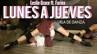 Lunes A Jueves - Leslie Grace Ft. Farina  Cris Bazan Heels Tacones Coreografia