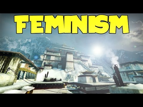 CS:GO DRAMATIC SPEECH 6 | FEMINISM