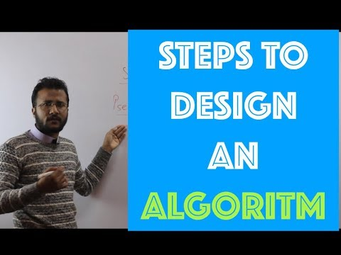 Algorithm Design & Analysis Process | What are the steps to design an algorithm ?