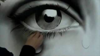 Copy of How to Draw a Realistic Eye speed painting photorealistic