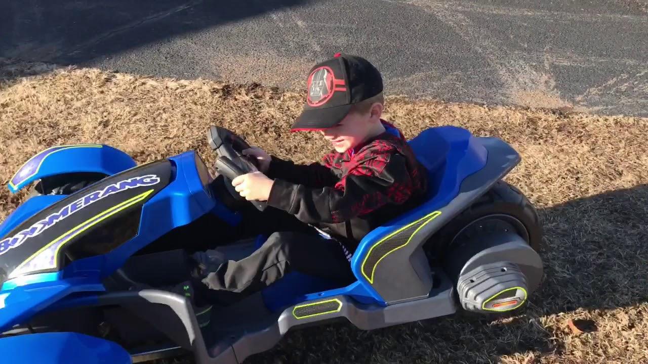 b6e734da001ee Power Wheels Boomerang - YouTube