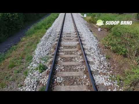 Revitalizace trati Okříšky - Zastávka u Brna