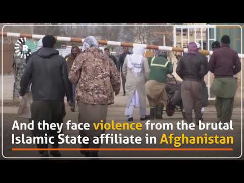 Iranian-paid Afghan soldiers return from Syria