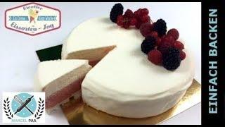 Eistorte Vanille - Erdbeer | Vacherin Torte | Eistorten Kooperation I Einfach Backen - Marcel Paa