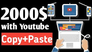 Passive Income 2020 [Earn 2000$ Monthly Just Copy And Paste Easy Money]