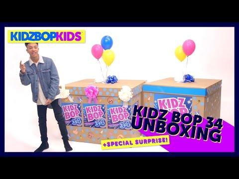 KIDZ BOP 34 Unboxing + SPECIAL SURPRISE!