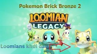 Roblox Loomian Legacy (PK Brick Brone 2) Tippen Sie 1 legen Loomian Wunde